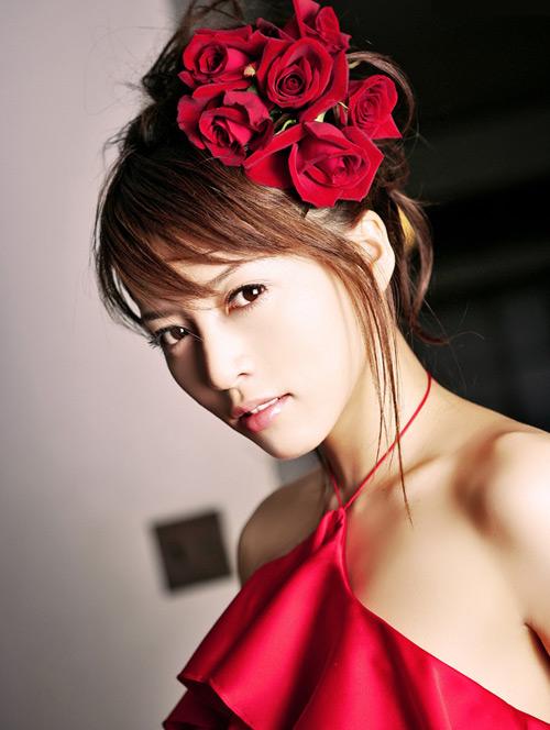 释由美子绝美性感写真  时尚